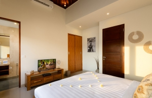 Villa Sophia Legian, Bali - Bedroom four with ensuite